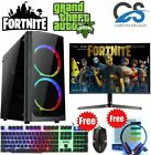 Ultra Fast I3 I5 I7 Desktop Gaming Computer Pc 2tb 16gb Ram Gtx 1660 Windows 10