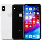 Apple iPhone X Smartphone 64GB 256GB Verizon GSM Unlocked AT&T T-Mobile Sprint