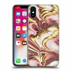 OFFICIAL ANDI GREYSCALE ABSTRACT MARBLING HARD BACK CASE FOR APPLE iPHONE PHONES