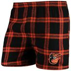 Baltimore Orioles Concepts Sport Homestretch Flannel Boxer Shorts - Black on Ebay