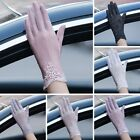 Kyпить Women Ladies Summer Lace Silk Gloves Outdoor Anti UV Sun Mittens Thin Gloves на еВаy.соm