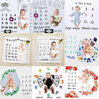 Kyпить Infant Baby Monthly Growth Milestone Blanket Photography Prop Background Cloth на еВаy.соm