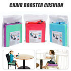 Chrilren Booster Chair Pad Dining Room Baby Kids Seat Soft Leather Cushion Cover