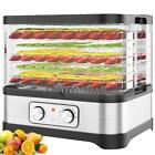 Food Dehydrator Preserver 8 Tray Fruit Vegetable Dryer Timer Temperature Control