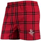 Houston Rockets Concepts Sport Homestretch Flannel Boxer Shorts - Red on eBay