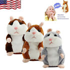 USA Talking Hamster Mimicry Pet Plush Toy Kids Speak Talking Sound Record Toy R