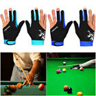 Spandex Snooker Three-finger Billiard Glove Pool Left And Right Hand Open £4.49 GBP on eBay
