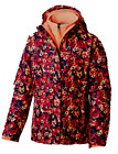 Girls Columbia Arctic Trip 3 in 1 Hooded Winter Ski Jacket Floral w Liner NWT