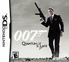 Nintendo DS James Bond 007: Quantum of Solace with Case $2.99 USD on eBay