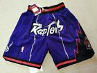 New Adult Size Purple Color Toronto Raptors Shorts on eBay