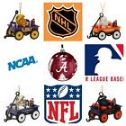 NFL NCAA MLB NHL Team Ornaments & Christmas Stockings $19.95 USD on eBay