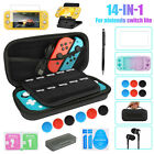 For Nintendo Switch Lite Carrying Case Bag /Shell Cover /Glass Screen Protector