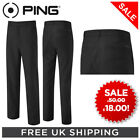 **PING 'SALE' KANE MENS GOLF TROUSERS - BLACK - VARIOUS SIZES - SAVE £32!!!!!!**