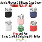 Apple AirPods 2 Wireless Charging Protective Silicone Case Cover WHOLESALE LOT