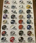 NFL Logo Helmet Football Decal Stickers Choose Your Team $1.29 USD on eBay