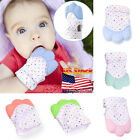 US Baby Mitt Teething Mitten Silicone Glove Gum Safe BPA Chew Dummy Toy Teether