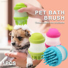 5A9F 2 in 1 Dog Brush Pet Supplies Take Shower Durable Pet Shampoo Brush