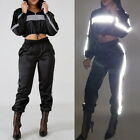 2X Women Outfits Tracksuit Jumpsuits Lightweight Windbreaker Pullover Pants Set@