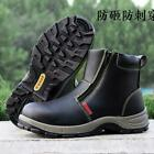 Men Steel Toe Prevent Puncture Safety Work Shoes Welder Work Snow Ankle Boots sz