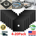 4-20 Kitchen Gas Range Stove Top Burner Protector Reusable Non-stick Cover Liner photo
