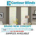 SAMPLES ONLY *NEW*- DAY AND NIGHT, ZEBRA ROLLER BLINDS. SOFT SHADE BLIND SAMPLES