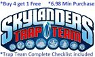 *Skylanders Trap Team Complete UR Set w Checklist $6.98 Min *Buy 4 get 1 Free👾