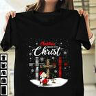 Sn00py Charlie Brown Cross Christmas Begins With Black T Shirt Men S 6XL Cotton image