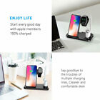 Wireless Fast Charger Charging Station Accessories For Samsung Apple Watch Phone