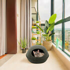 Natural Felt Cat Dog Sleeping Bed Warm Nest Kennel Soft House Puppy Cave G2Y0