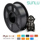 Kyпить SUNLU PLA+ SILK 3D Printer Filament 1.75mm 1KG/2.2lb Spool Black PLA PLUS Print на еВаy.соm