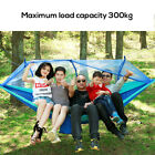 Portable Double Hammock with Mosquito Net Netting Hanging Bed Outdoor