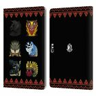 MONSTER HUNTER WORLD ICONS LEATHER BOOK CASE FOR MICROSOFT SURFACE TABLETS