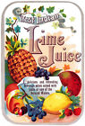 West Indian Lime Juice - Fruit Advertising Poster