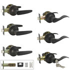 Door Lever Handles Privacy Passage Keyed Entry Dummy Knobs OIL Rubbed Bronze