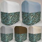 Canvas Brown & Teal Paisley Cover Compatible with Farberware 4.7qt Stand Mixer