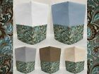 Canvas Brown & Teal Paisley Coffee Maker Cover