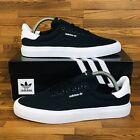 *NEW* Adidas Originals 3MC Vulc Men's Skate Shoes Black White Casual Sneakers