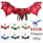 Halloween Masquerade Mask Wing Tail Dragon Cosplay Decor Dinosaurio Kids Gift