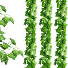 Artificial Hanging Plant Flowers Greenery Vine Leaf Garland Fake Faux Decor7.9ft