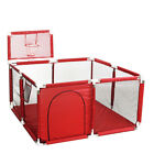 Portable Baby Playpen Play Yard Kids Play House Tent Safety Gate 4 Panel Fence