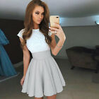 Women's Formal Lace Dress Prom Ball Gown Ladies Evening Party Bridesmaid Dresses