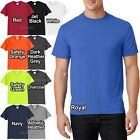 Mens Tall T-Shirt 50/50 Cotton Poly Tee LT, XLT, 2XLT, 3XLT, 4XLT NEW image