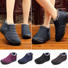 Womens Snow Ankle Boots Winter Fur Lined Waterproof Outdoor Sneakers Shoes 2019