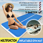 23/20FT GYM Inflatable Mat Air Track Tumbling Floor Gymnastics Training Pad image