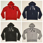 men polo ralph lauren fleece hoodie big pony soft touch cotton size s m l xl xxl