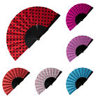 Spanish Flamenco Short Spotty Hand Held Folding Fan Dance Fancy Dress Book Week