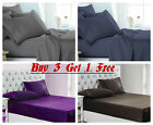 Egyptian Comfort 1900 Series Bed Sheet Set Full,Queen, King Size Bed Top Sheet image