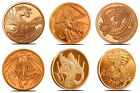 Kyпить World Of Dragons Aztec Welsh Chinese Norse Indian Egyptian Copper Round Full Set на еВаy.соm