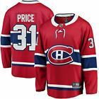 Carey Price Montreal Canadiens Fanatics Branded Breakaway Player Jersey Red