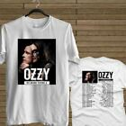 NEW OZZY OSBOURNE NO MORE TOURS 2 CONCERT 2018 WHITE T-SHIRT TEE USA SIZE image